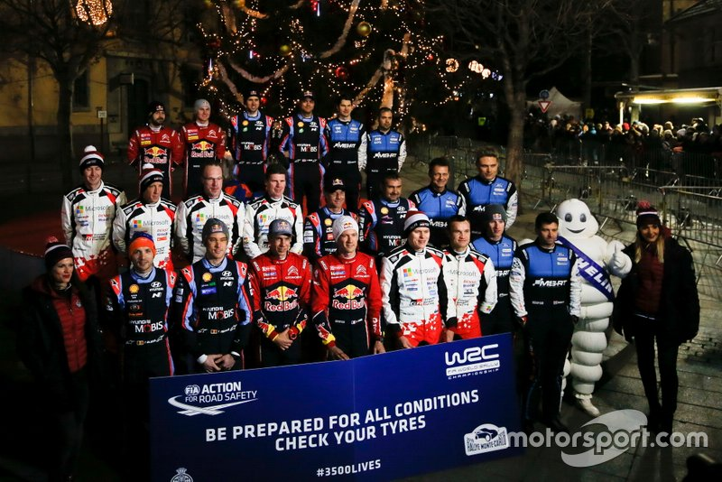 Всі гонщики та штурмани WRC-2019
