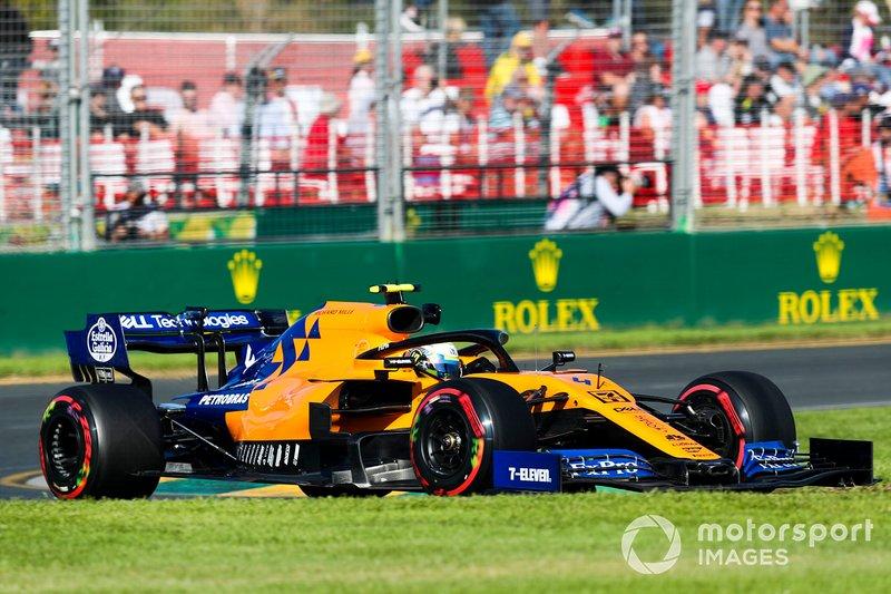 Ландо Норрис, McLaren MCL34, 1:22.304