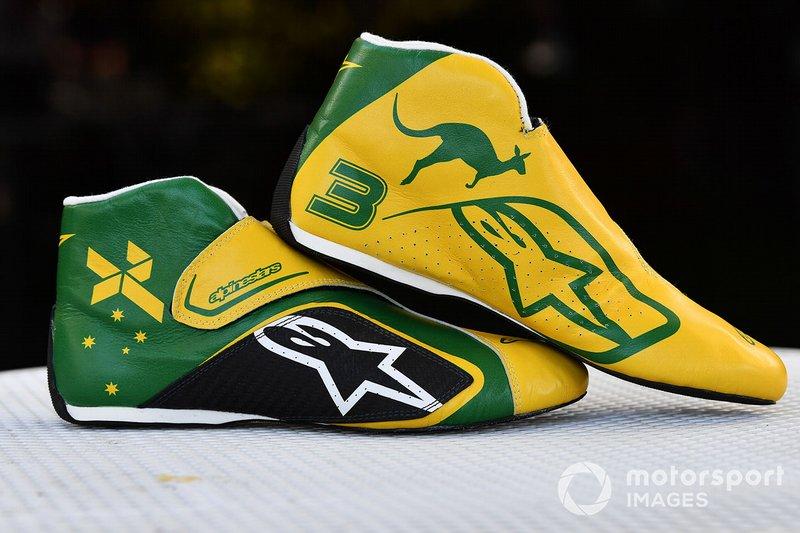 Ботинки Даниэля Риккардо, Renault F1 Team
