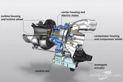نظام العادم الكهربائي لسيارة مرسيدس