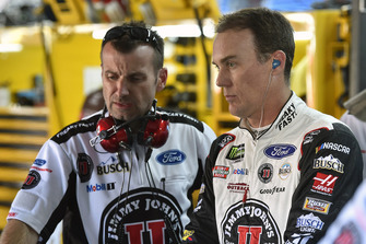 Kevin Harvick, Stewart-Haas Racing, Ford Fusion Jimmy John's and Rodney Childers