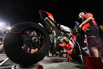 La moto di Marco Melandri, Aruba.it Racing-Ducati SBK Team