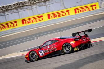 #15 Mexico, Squadra Corse Garage Italia Ferrari 488 GT3: Martin Fuentes, Ricardo Perez De Lara