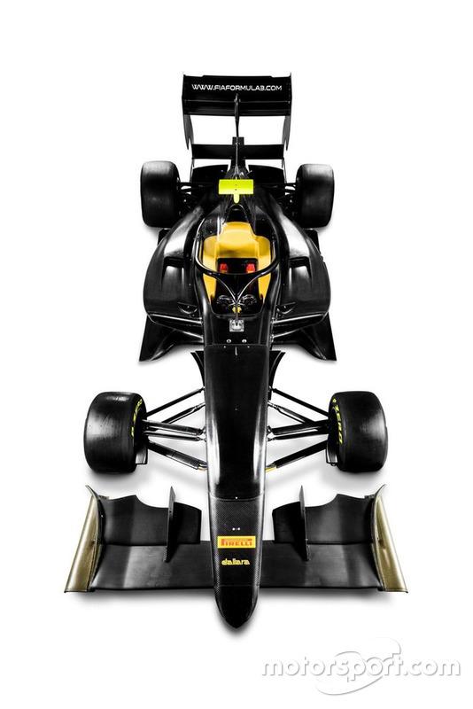 La Dallara de FIA F3 2019