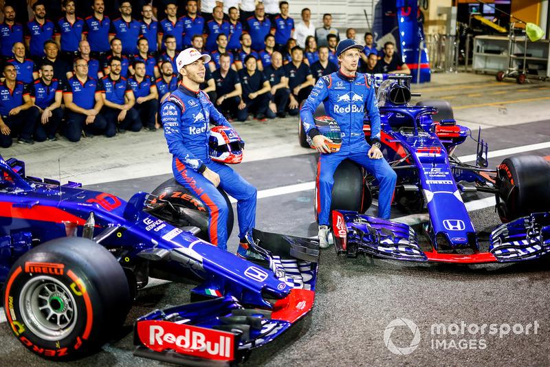 П'єр Гаслі, Брендон Хартлі, Toro Rosso