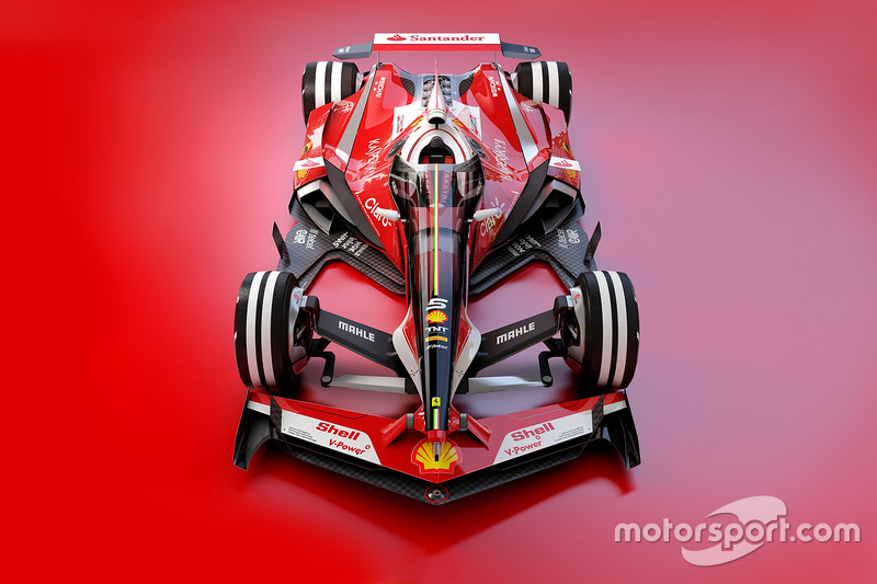 Ferrari 2030 fantezi tasarım