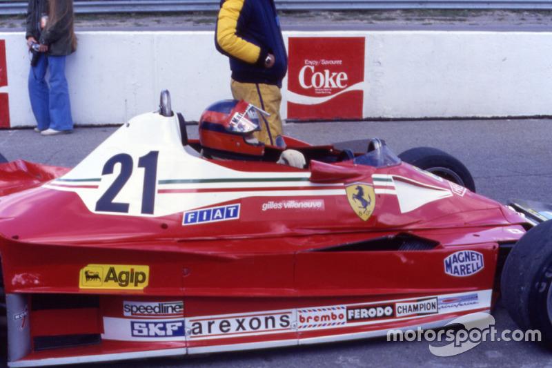 El gran premio de debut con Ferrari