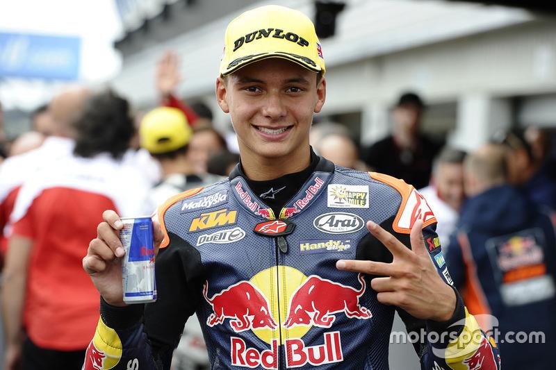 Third place Bo Bendsneyder, Red Bull KTM Ajo