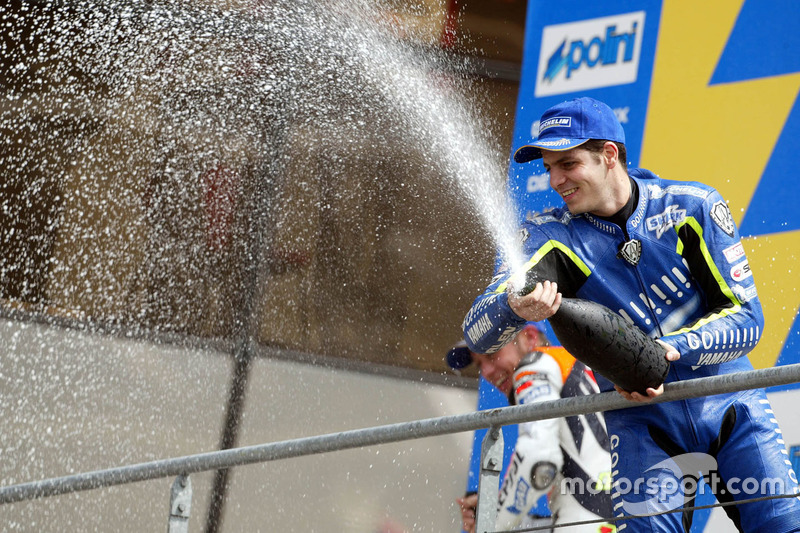 Podium: 3. Alex Barros, Gauloises Yamaha Team