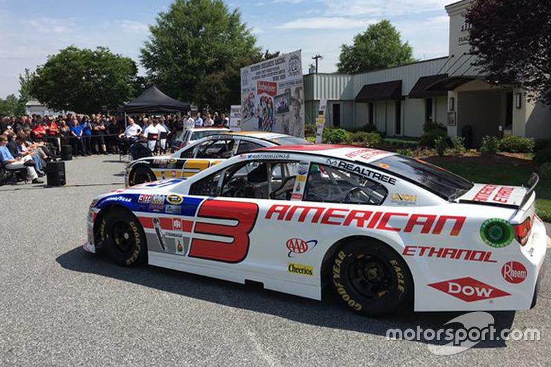 Throwback-Design von Austin Dillon, Richard Childress Racing, Chevrolet