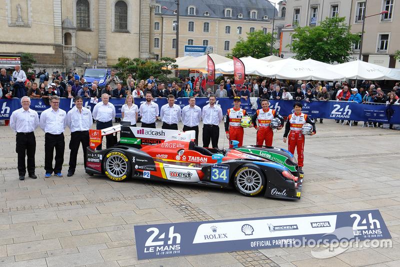 #34 Race Performance Oreca 03R Judd: Ніколас Лайтвілер, Джеймс Вінсло, Шіндзі Накано