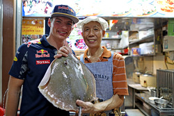 Max Verstappen Red Bull Racing at Newton Food Centre