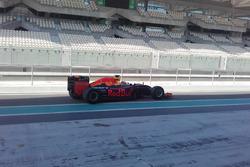 П'єрр Гаслі на тестах Pirelli (третій день)
