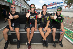 Chaz Mostert, Rod Nash Racing Ford, Cameron Waters, Prodrive Racing Australia Ford, Mark Winterbottom, Prodrive Racing Australia Ford