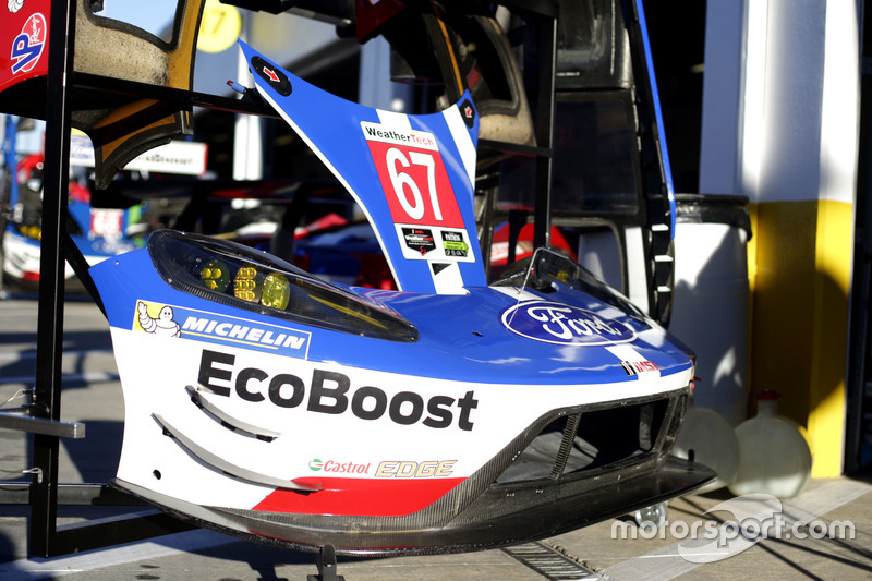 Parts of the #67 Ford Performance Chip Ganassi Racing Ford GT: Ryan Briscoe, Richard Westbrook, Scott Dixon
