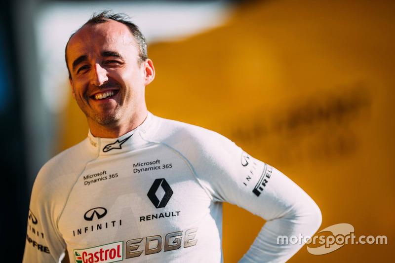 Роберт Кубица, Renault