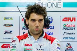 Marco Barbiani, Team LCR Honda, Dateningenieur