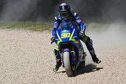 Ausritt: Sylvain Guintoli, Team Suzuki MotoGP