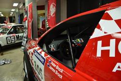 Peter Brock's Dakar car