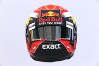 The helmet of Max Verstappen, Red Bull Racing RB13