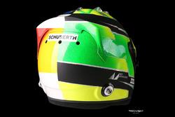 Helmdesign von Mick Schumacher für seine Demofahrt mit dem Benetton B194 seines Vaters Michael Schumacher
