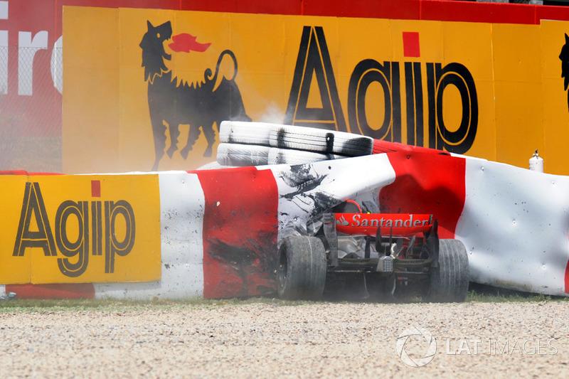 Аварія Хейккі Ковалайнена, McLaren MP4-23 Mercedes