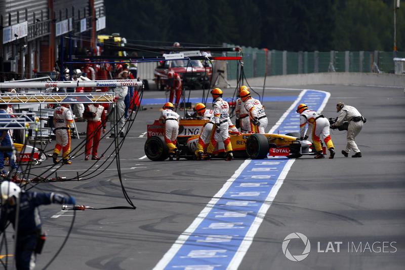2009: Teleurstelling en afscheid van Renault