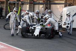 Felipe Massa, Williams FW40 retires
