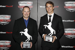 John Church and James French with Continental Extreme Spirit Awards