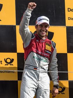 Podium: Mike Rockenfeller, Audi Sport Team Phoenix, Audi RS 5 DTM