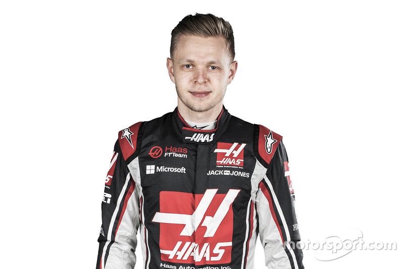 #20 Kevin Magnussen, Haas F1 Team  (Contrato hasta final de 2018)