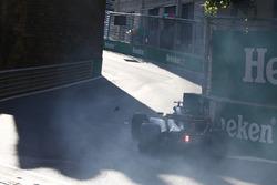Авария: Джолион Палмер, Renault Sport F1 RS17