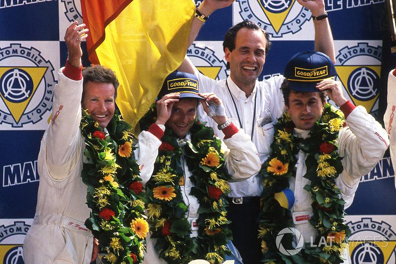 1. Hurley Haywood, Mauro Baldi, Yannick Dalmas, Dauer Porsche 962 LM