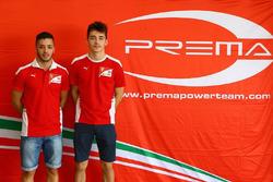 Антонио Фуоко и Шарль Леклер, Prema racing