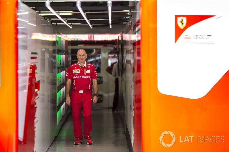 Jock Clear, Ferrari-Chefingenieur
