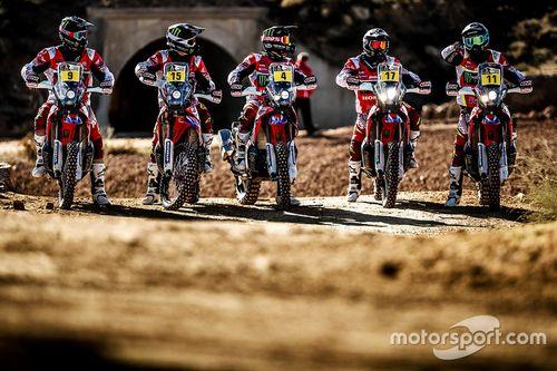 Honda Team bike presentation