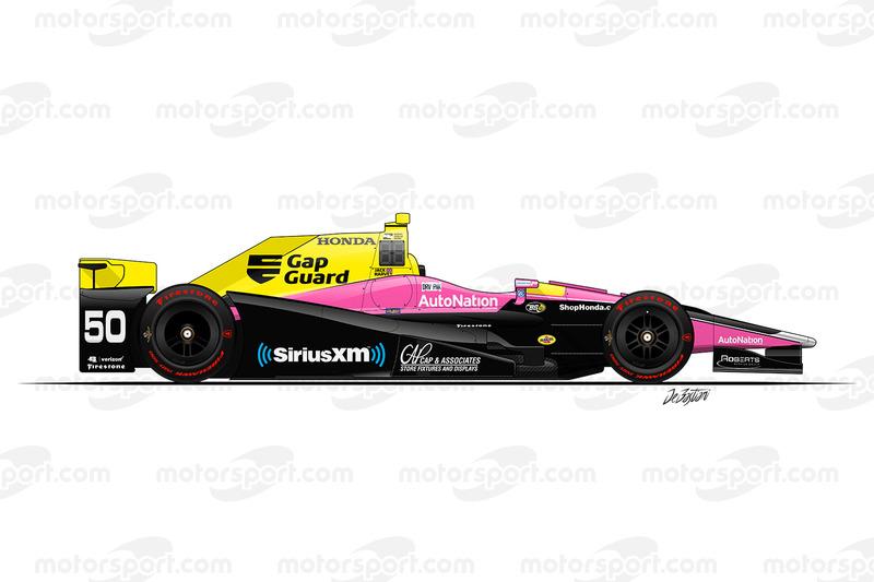 #50 - Jack Harvey, Andretti Autosport with Michael Shank Racing Honda