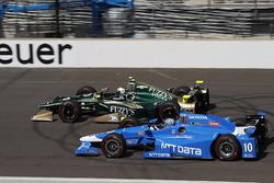 Ed Carpenter, Ed Carpenter Racing Chevrolet, Tony Kanaan, Chip Ganassi Racing Honda