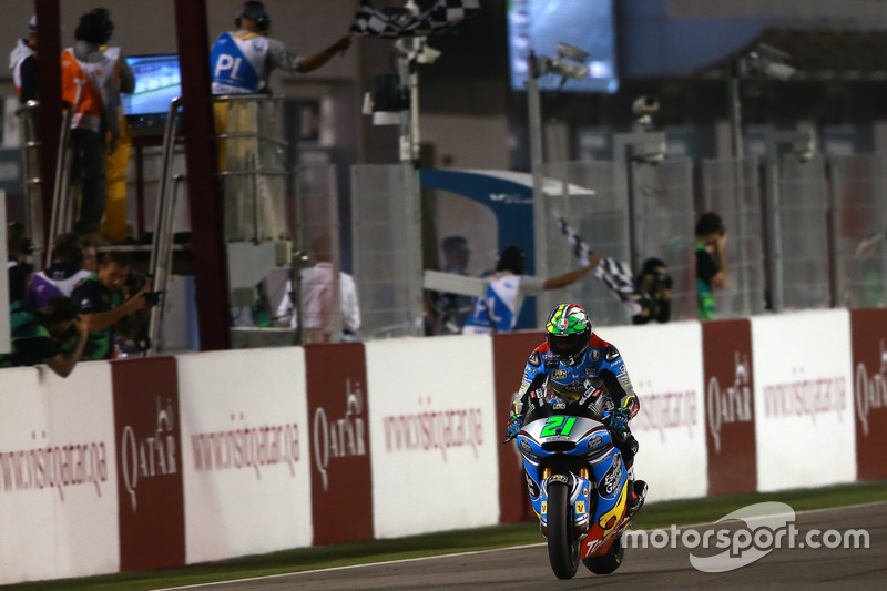 Franco Morbidelli, Marc VDS memenangi Moto2 Qatar 2017