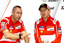 Gabarrini, Jorge Lorenzo, Ducati Team