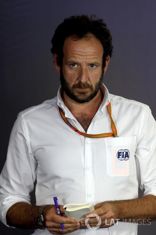 Медіа-делегат FIA Маттео Бончіані