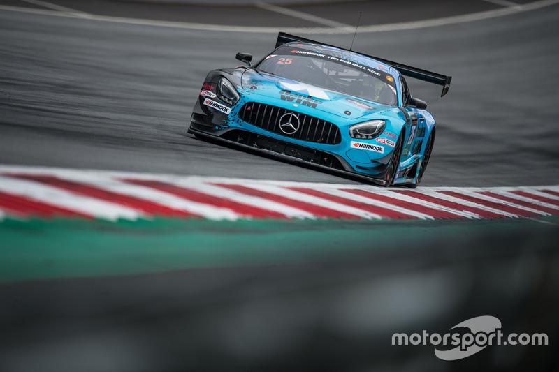 #25 HTP Motorsport Mercedes AMG GT3: Wim de Pundert, Jimmy Eriksson, Fabian Schiller
