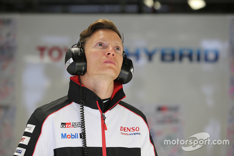 Mike Conway, Toyota Racing