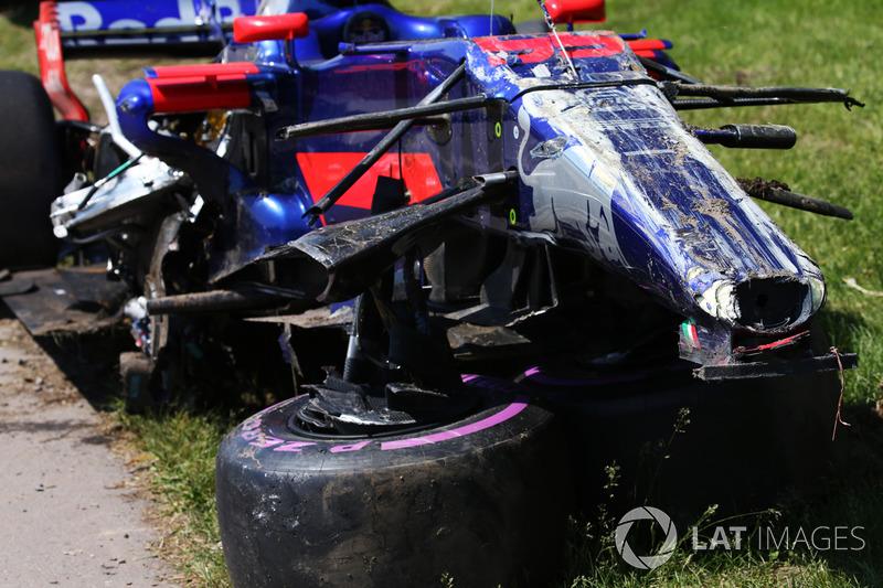 Auto von Carlos Sainz Jr., Scuderia Toro Rosso STR12