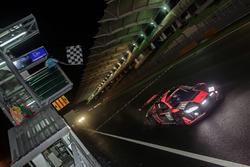 Checkered flag for #15 Audi Sport Team Phoenix, Audi R8 LMS: Christopher Haase, Robin Frijns, Laurens Vanthoor