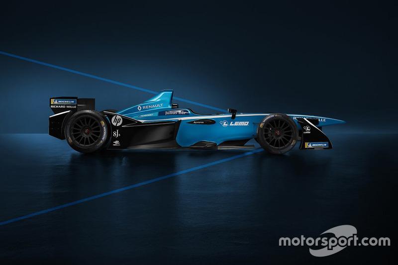 Нова ліврея Renault e.dams