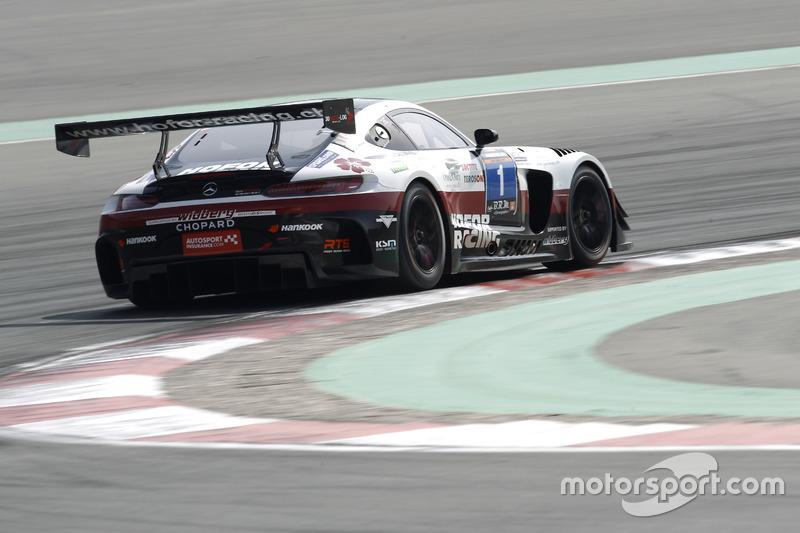 #1 Hofor-Racing Mercedes AMG GT3: Michael Kroll, Chantal Kroll, Roland Eggimann, Kenneth Heyer, Christiaan Frankenhout