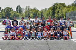 Photo de groupe des pilotes