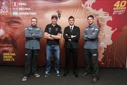 Tobias Henschel, Nani Roma, Marc Coma and Marcus Walcher