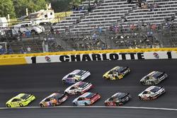 Paul Menard, Wood Brothers Racing, Ford Fusion Menards / Knauf and Chase Elliott, Hendrick Motorsports, Chevrolet Camaro SunEnergy1